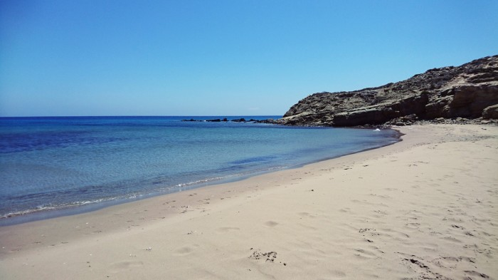 private beach prassonissi.JPG