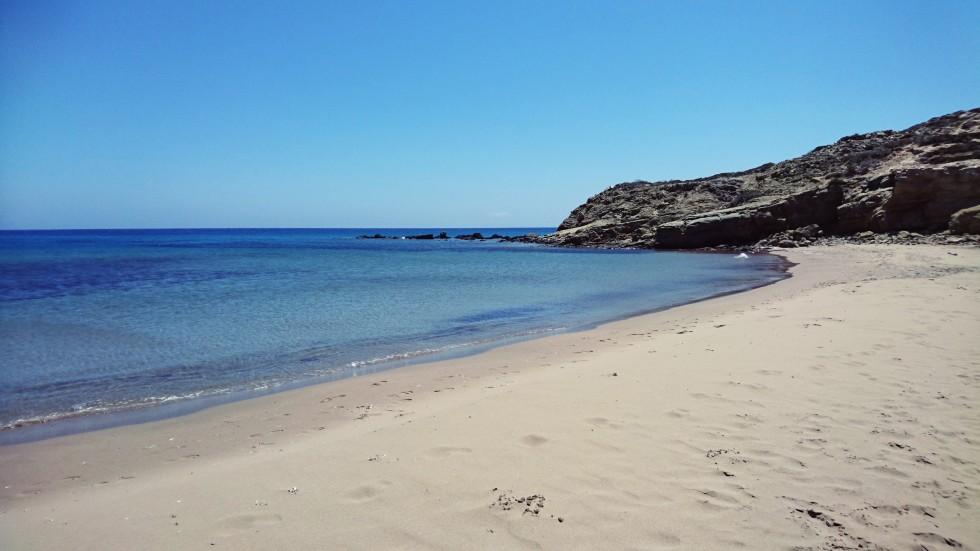 private beach prassonissi.JPG