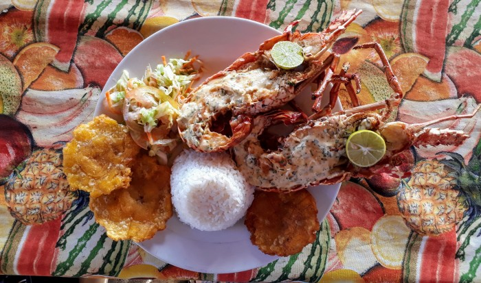Coastal Colombian food