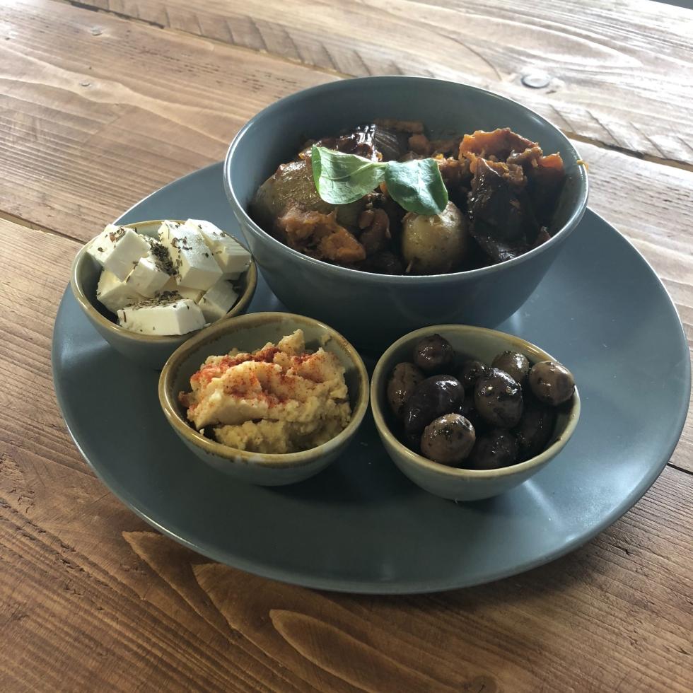Roast-vegetables-cafe-blaenau-ffestiniog-wales